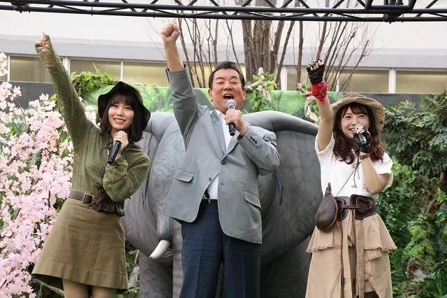 加山は、58年に及ぶ芸能生活で初めてPRイベントに参加