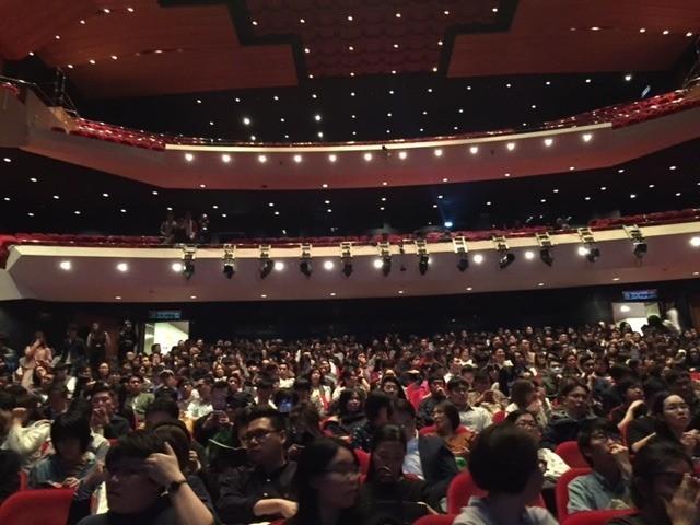 「リバーズ・エッジ」が上映された香港文化中心