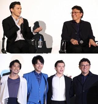 「アベンジャーズ4」では日本が舞台に!来日した監督&トム・ホランドが明言