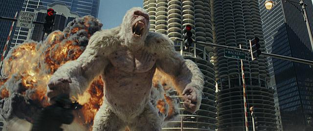 【全米映画ランキング】ドウェイン・ジョンソン主演「ランペイジ 巨獣大乱闘」が首位デビュー