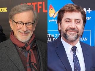 スティーブン・スピルバーグ監督とハビエル・バルデム「トランボ ハリウッドに最も嫌われた男」