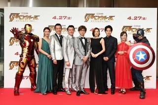 「アベンジャーズ」声優・米倉涼子、山寺宏一&加藤浩次らガーディアンズメンバーに対抗意識?