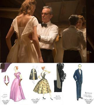 衣装デザイナー、マーク・ブリッジス が手がけた「ファントム・スレッド」