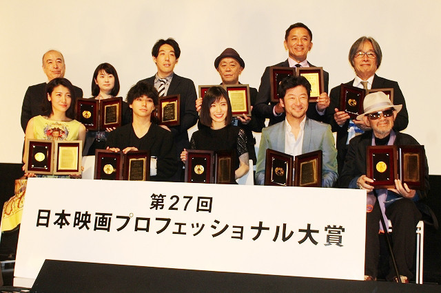 松岡茉優、日プロ主演女優賞に喜び爆発! 浅野忠信は21年ぶりに主演男優賞