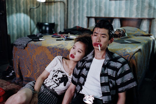 鋤田正義氏が撮影した「ミステリー・トレイン」のスチル「SUKITA 刻まれたアーティストたちの一瞬」