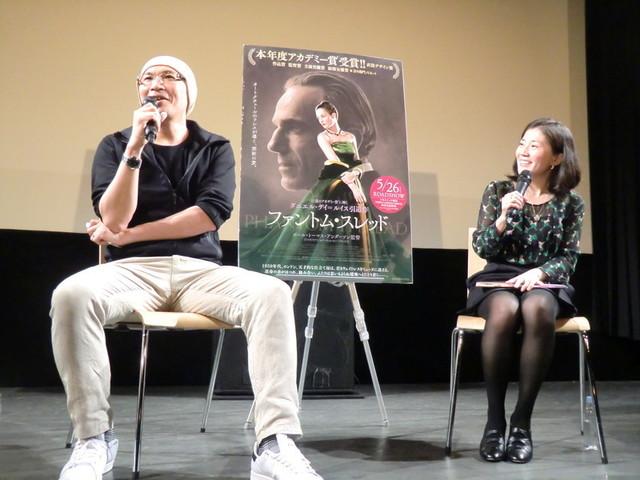 「完璧な映画」と本作を評した森直人氏(左) と新谷里映氏