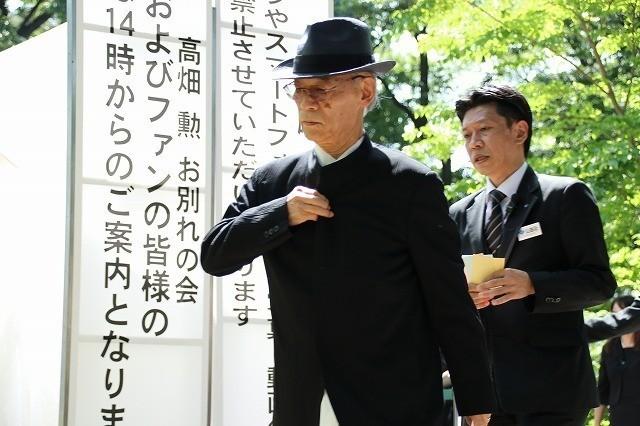 宮崎駿監督、高畑勲監督との別れに涙「ありがとう」「忘れない」関係者1200人が見送る - 画像22