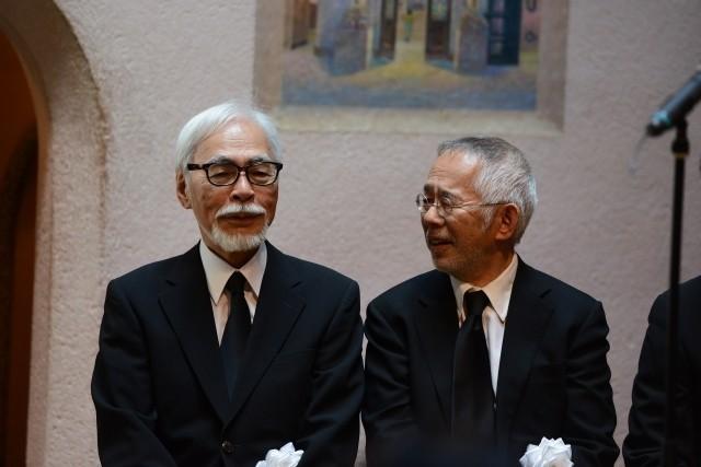 宮崎駿監督、高畑勲監督との別れに涙「ありがとう」「忘れない」関係者1200人が見送る - 画像6
