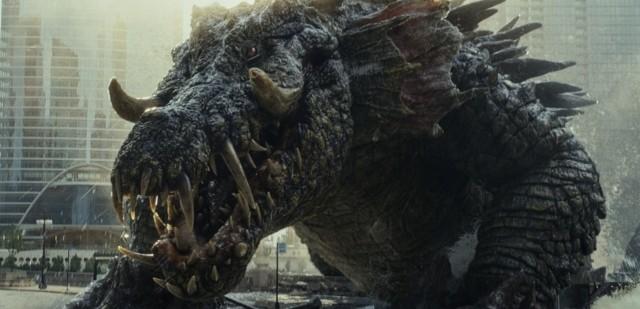 """ロック様VS全長68.5mの""""巨獣""""ワニ!「ランペイジ」ド派手本編映像公開"""