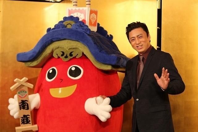 発表会に出席した松本幸四郎