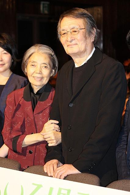 画家・熊谷守一と妻の秀子を演じたふたり