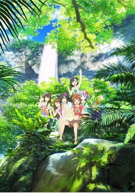 「劇場版 のんのんびより」れんちょんたちが沖縄の滝を楽しむ第2弾キービジュアル公開
