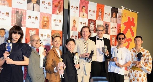 来日中のウェス・アンダーソン監督、高畑勲監督ら日本の巨匠たちへの愛を語り尽くす