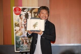 是枝裕和監督が凱旋会見「安藤サクラの演技がケイト・ブランシェットを虜にした」