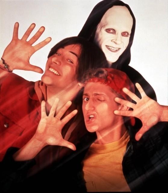 「ビルとテッドの地獄旅行」場面写真