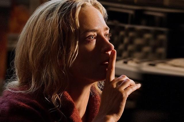 音を立てたら死亡!エミリー・ブラント主演「クワイエット・プレイス」9月公開