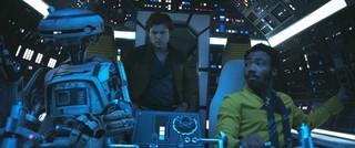 「ハン・ソロ」で初登場する女性型ドロイドL3-37「ハン・ソロ スター・ウォーズ・ストーリー」