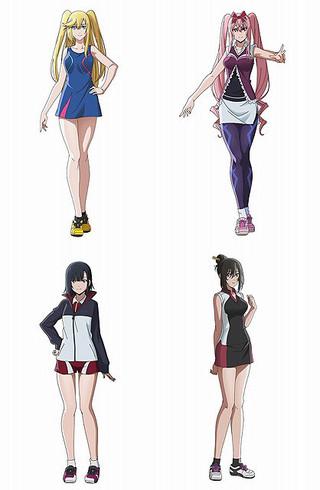 「はねバド!」ライバル校の選手役に伊瀬茉莉也、茅野愛衣、下田麻美、櫻庭有紗