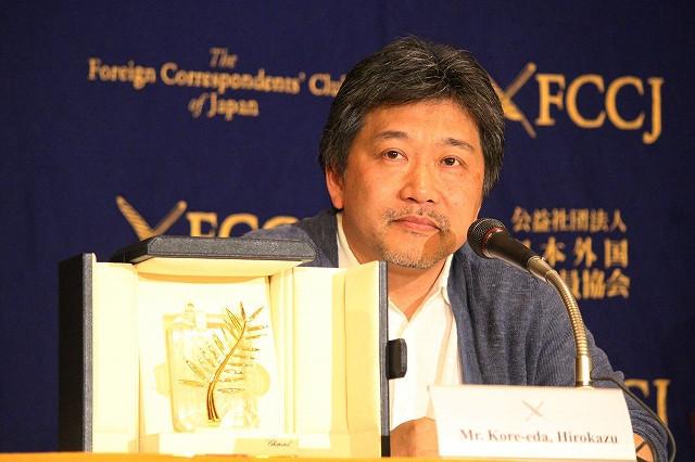 第71回カンヌ国際映画祭最高賞のパルムドールを獲得した是枝裕和監督