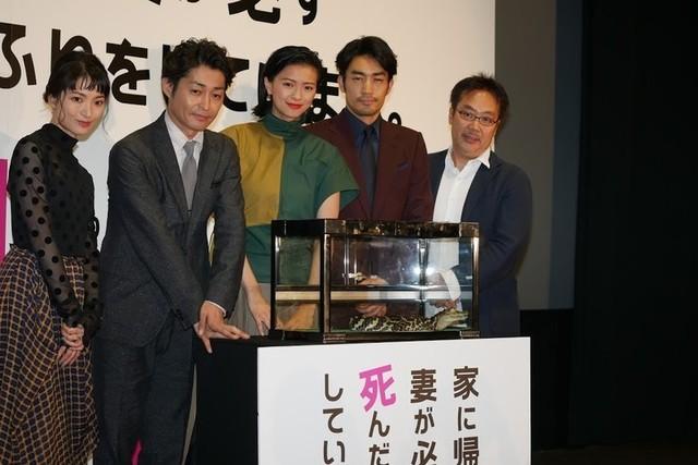 榮倉奈々、ワニの名付け親に 主演作公開に切なる願い「上映館が増えるといいなあ」