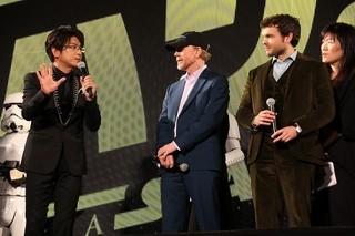 「ハン・ソロ」主演俳優&R・ハワード監督、ファンサービス1時間!1000人が大熱狂