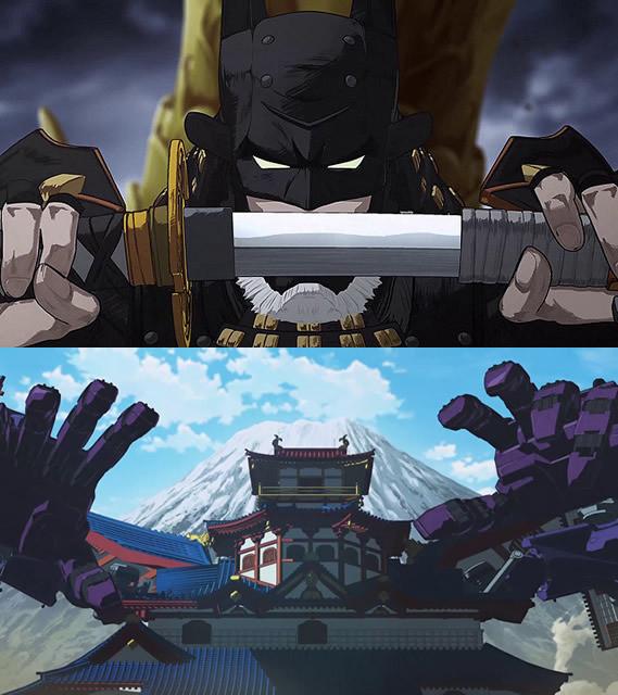 「ニンジャバットマン」衝撃の本編映像公開!巨大な日本の城が動き出す