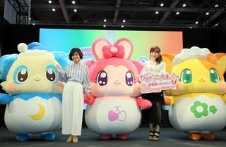 発表会には高橋未奈美&伊瀬茉莉也が登壇「映画かみさまみならい ヒミツのここたま 奇跡をおこせ♪テップルとドキドキここたま界」