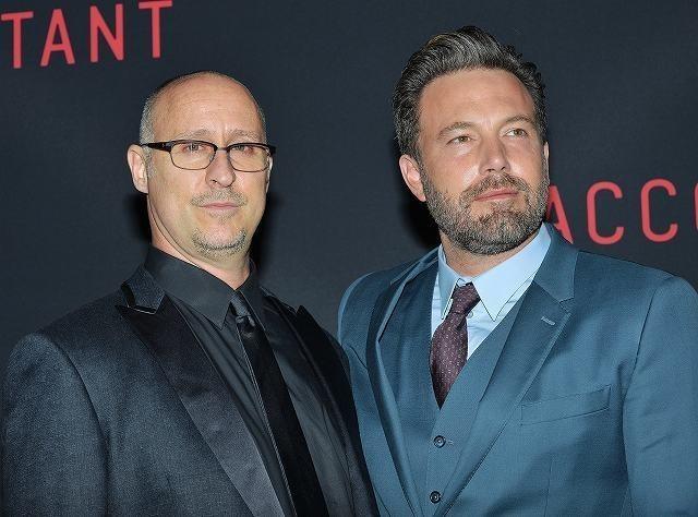 ベン・アフレック(右)とギャビン・オコナー監督