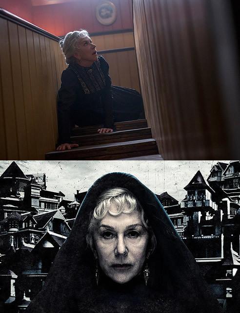 ミレンが演じたのは、屋敷の増築に 取りつかれた未亡人