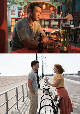 ウィンスレット扮するヒロインの相手役と、 ナレーションを務める「女と男の観覧車」