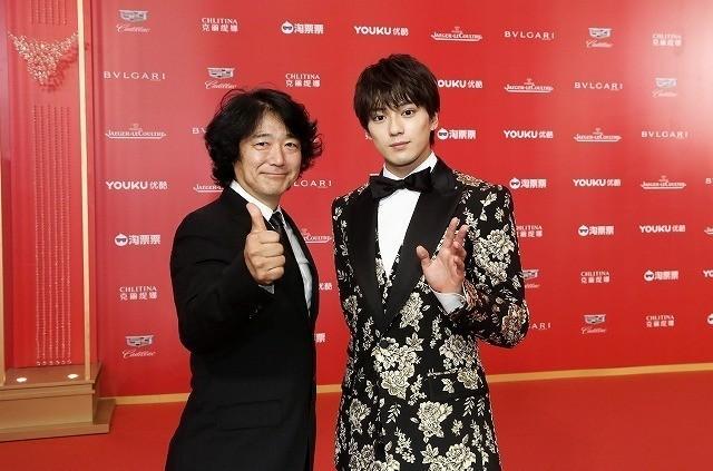 海外映画祭デビューを飾った新田、 メガホンをとった羽住英一郎監督