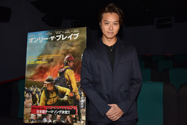TAKAHIROが明かした「オンリー・ザ・ブレイブ」の消防士とEXILEの共通点