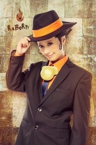 リボーン役を務めるニーコ