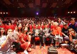松居大悟監督&池松壮亮「君が君で君だ」上海映画祭の上映にファン1200人