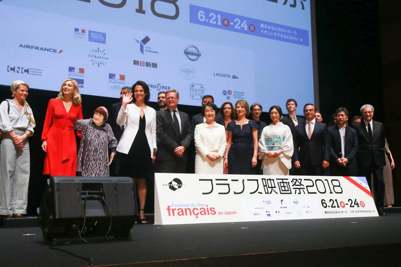 フランス映画祭2018開幕 パルムドール獲得の是枝裕和監督が祝福に