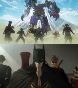 """これは本当に""""バットマン""""なのか!?「ニンジャバットマン」巨大ロボ合体映像"""