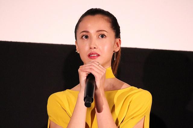 沢尻エリカの瞳に涙… 6年ぶり主演映画が公開「自分の人生で大切な作品」