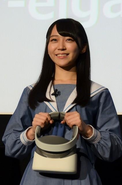 日本初「映画館でVR!」体験にSTU48メンバーが大絶叫 - 画像6