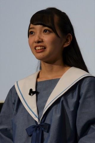 日本初「映画館でVR!」体験にSTU48メンバーが大絶叫