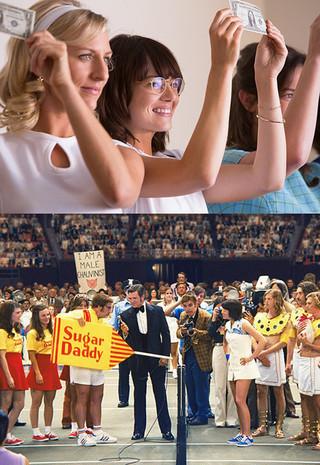 エマ・ストーンが絶賛!「バトル・オブ・ザ・セクシーズ」夫婦監督に迫る特別映像