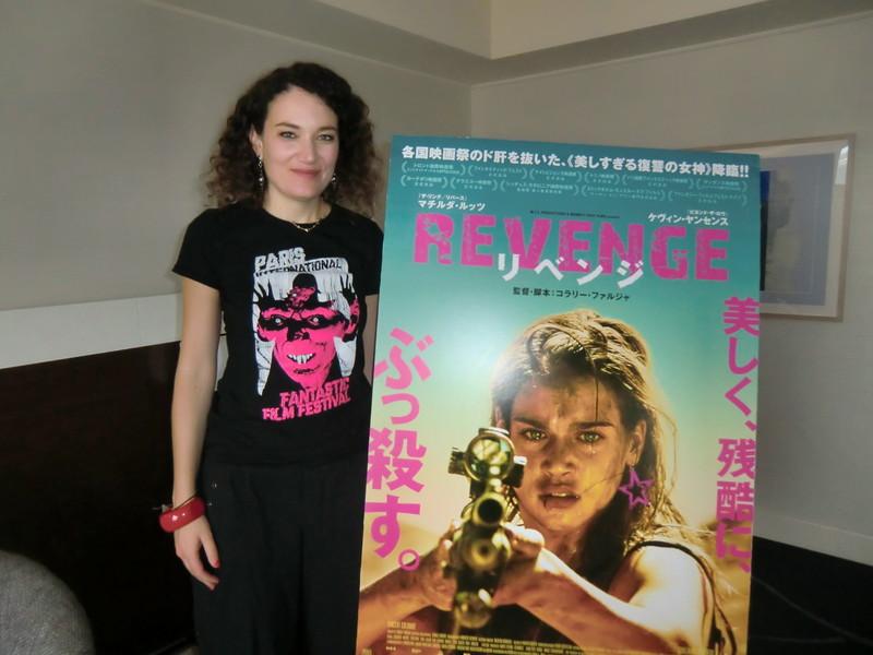 美女の復讐譚「REVENGE」監督、「屈辱を強いられた女性が自らの手で晴らす物語」