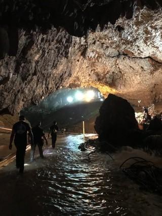 タイの洞窟救助、映画化にむけた動き