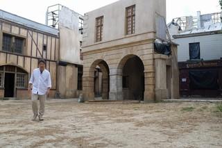 ロケハン中の是枝裕和監督「La verite(仮題)」
