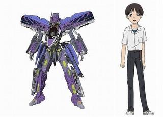 碇シンジ役はもちろん緒方恵美!「ロボット」