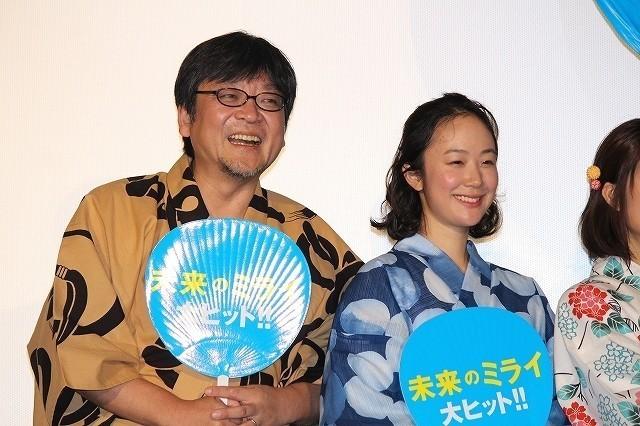 上白石萌歌、細田守監督作「未来のミライ」公開に感無量 星野源は感動エピソードを披露