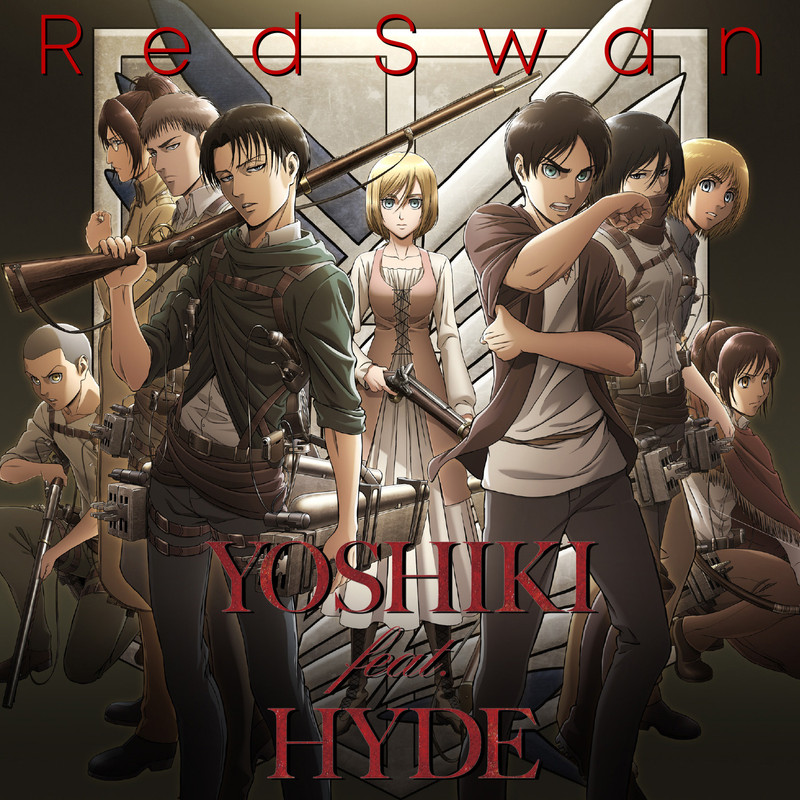 「YOSHIKI feat. HYDE」の楽曲が「進撃の巨人」第3期OP曲に