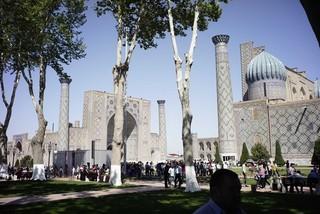 古都サマルカンドのビビハニム・モスク「旅のおわり世界のはじまり」