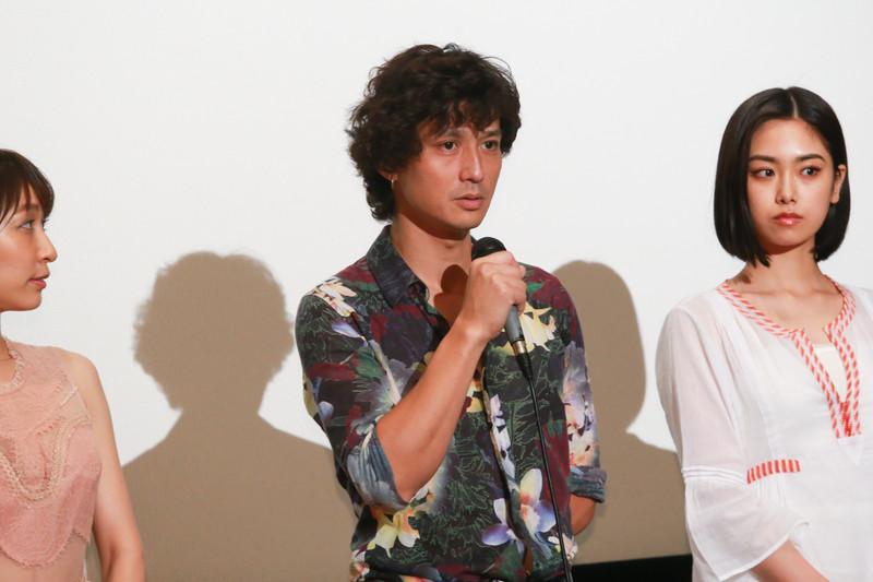 安藤政信、鬼才・矢崎仁司監督との12年ぶりのタッグ作の初日に感無量