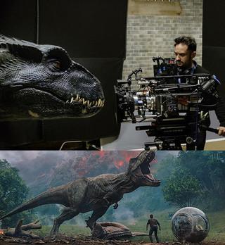 恐竜たちの撮影方法が明らかに!「ジュラシック・ワールド」最新作メイキング映像公開