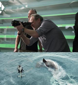 「ナショナル・トレジャー」シリーズの 実力派監督が、超巨大ザメの恐怖を描く!「MEG ザ・モンスター」